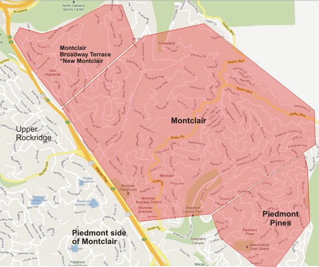 oakland-map-montclair-areas